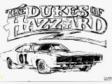 Dukes Of Hazzard Car Coloring Pages Color Pages Of General Lee Instant Knowledge