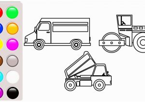 Dump Truck Coloring Book Pages Dump Truck Road Roller and Delivery Truck Coloring Pages Vehicles