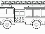 Dump Truck Coloring Pages for toddlers Coloring Fire Truck Coloring Pages Also 1 Sheet Preschool Fire
