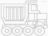 Dump Truck Coloring Pages Printable Dump Truck Coloring Page New Simplified Adult Coloring Pages Trucks