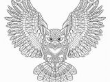 Eagle Mandala Coloring Pages Halloween Coloring Pages Ebook Flying Owl