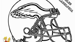Eagles Football Player Coloring Pages Eagle Football Coloring Pages Football Helmet Coloring Page 01