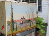 Early American Wall Murals Rufus Porter Inspired Scenic Landscape Murals