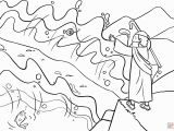 Early Church Coloring Page Best Moses Parts the Red Sea Coloring Sheet Design
