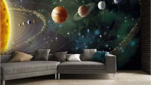 Earth From Space Wall Mural Outer Space Wall Mural Wallpaper Inn Store