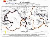 Earthquake Coloring Pages Color Coded and Labelled World Earthquake Map Good Activity