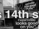 East Nashville Wall Murals S 14th Street East Nashville Nashville Looks Good On You