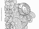 Easter 2018 Coloring Pages Zentangle Easter Bunny and Eggs Coloring Page • Free