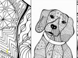 Easter Beagle Coloring Pages Beagle Coloring Pages Fresh Zentangle Dog Colouring Page Animal