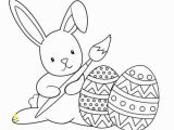 Easter Bunny Coloring Pages Printable Easter Bunny Coloring Page