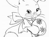 Easter Bunny Coloring Pages Printable Easter Bunny Coloring Pages Easter Egg Bunny with Images