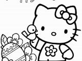 Easter Coloring Pages Hello Kitty Easter Coloring Pages Free Download