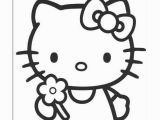 Easter Coloring Pages Hello Kitty Fargelegging Tegninger
