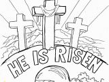 Easter Coloring Pages Jesus is Alive Easy Easter Coloring Pages at Getdrawings