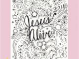 Easter Coloring Pages Jesus is Alive Jesus is Alive Coloring Page Easter Coloring by