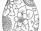 Easter Pages to Print and Color Easter Egg Coloring Pages Free Printable