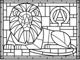Easter Stained Glass Coloring Pages 18luxury Stained Glass Coloring Books Clip Arts & Coloring Pages