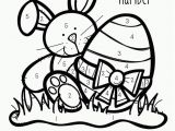 Easy Color by Number Coloring Pages Easter Color by Numbers Best Coloring Pages for Kids
