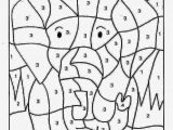 Easy Color by Number Coloring Pages Easy Paint by Number Printables