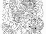 Easy Coloring Pages for Adults to Print Flowers Abstract Coloring Pages Colouring Adult Detailed Advanced