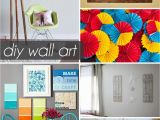 Easy Diy Wall Murals 50 Beautiful Diy Wall Art Ideas for Your Home