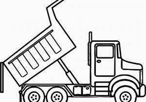 Easy Dump Truck Coloring Pages Dump Truck Coloring Book Pages