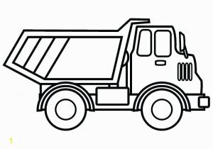 Easy Dump Truck Coloring Pages Dump Truck Coloring Pages 7 S Coloring Slpash