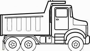 Easy Dump Truck Coloring Pages Dump Truck Coloring Pages Printable Lovely Coloring Book and Pages