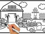 Easy Fall Coloring Pages Visit Rainbowplayhouse to Print This Coloring Page How
