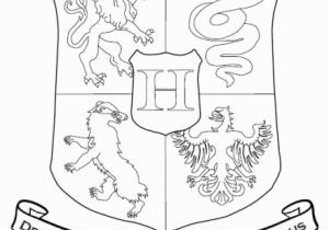 Easy Harry Potter Coloring Pages Hogwarts Crest Coloring Page Can Also Be Used for Lunch Time Arrival