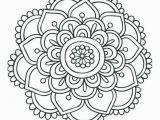 Easy Mandala Coloring Pages Simple Mandala Coloring Pages New Elegant Awesome Coloring Page for