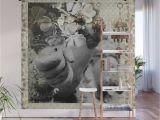 Easy Peel Wall Murals Folded Hand Ma Durga Wall Mural