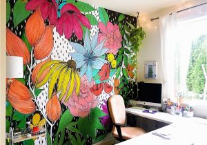 Educational Wall Murals the Flower Wall Mural the Pigeon Letters