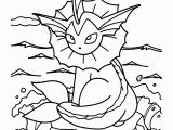 Eevee Pokemon Coloring Pages Pokemon Coloring Pages