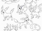 Eeveelutions Coloring Pages Eevee Coloring Pages Elegant Flareon Coloring Page Inspirational 10