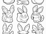 Eeveelutions Coloring Pages Eeveelutions Coloring Pages 22 Pokemon Eevee Evolutions Coloring