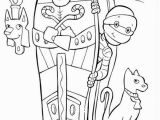 Egyptian Coloring Pages to Print 7 Egyptian Mummy Coloring Pages Eco Coloring Page