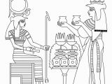 Egyptian Gods and Goddesses Coloring Pages Egyptian Goddess & Gods Coloring Page