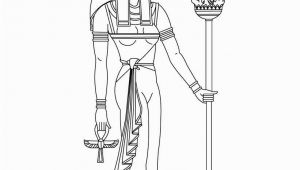 Egyptian Gods and Goddesses Coloring Pages Egyptian Gods and Goddesses Coloring Pages