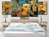 Egyptian themed Wall Murals 2019 Pharaoh Egypt Home Decoration Paintings Modern Abstract Wall Painting Wall Art Picture Unframed From Print Art Canvas $16 41