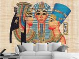 Egyptian themed Wall Murals Custom Size 3d Wallpaper Living Room Bed Room Mural Ancient Egyptian Pharaoh 3d Picture sofa Tv Backdrop Wallpaper Non Woven Sticker H Wallpaper