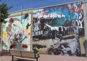 El Paso Mural Wall at the Drive In Returns to Roots with New Album