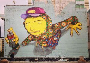 El Paso Mural Wall Con El Paso De Los A±os El Grafiti Ha Modificado Su