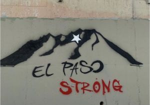 El Paso Mural Wall Hashtag 915strong Sur Twitter