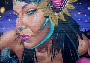 El Paso Mural Wall Pin On Street Art