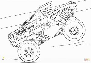 El toro Loco Monster Truck Coloring Page Best Monster Truck Coloring Pages Vector Drawing Art Library and