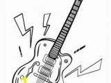 Electric Guitar Coloring Page 500 Best Miscellaneous Coloring Pages Images