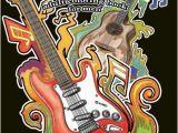 Electric Guitar Coloring Page Black Background Coloring Book for Men Guitars Men S Black