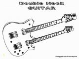 Electric Guitar Coloring Page Strings Guitar Playing the Guitar Coloring Page Clip Art