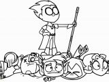 Electro Coloring Pages Teen Titans Coloring Page Teen Titans Go Robin Coloring Pages